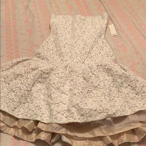 Badgley Mischka BHLDN reception dress